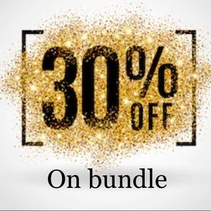 Offering 30% off on bundle